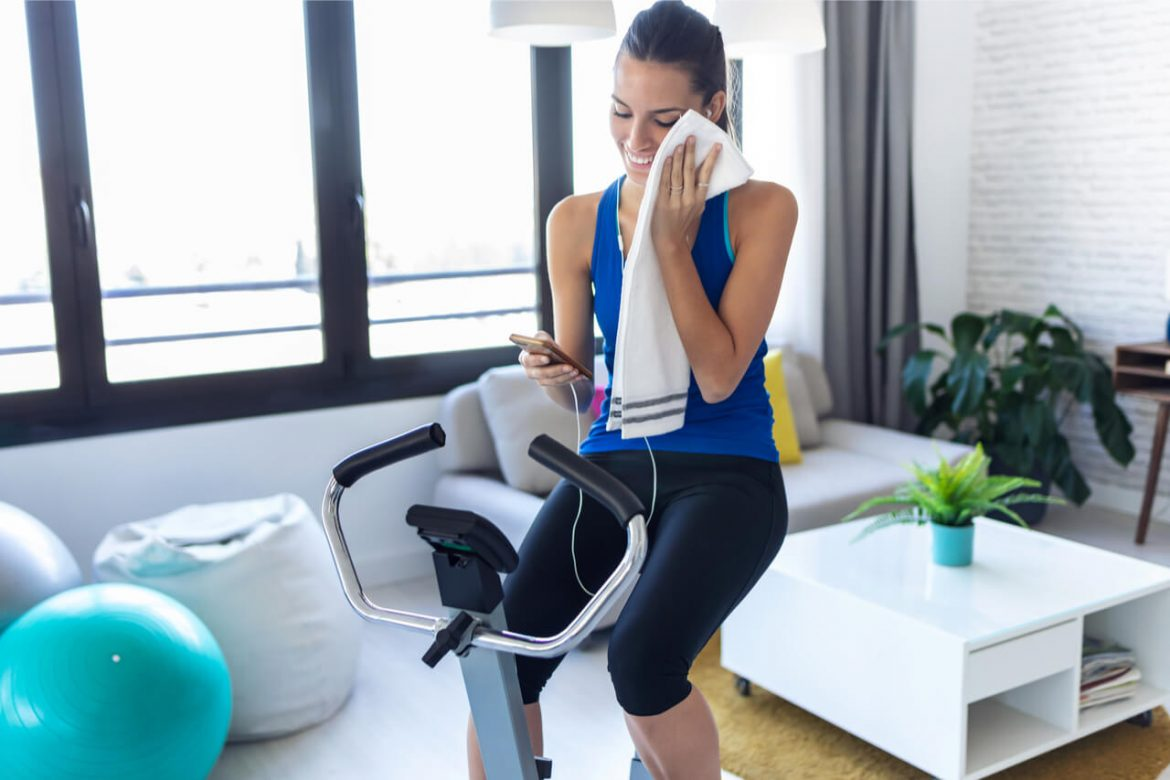 Stationary Bike Exercise: Do Your Cycling At Home