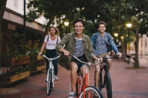 outdoor bicycles